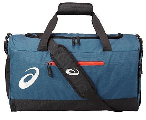 Asics Unisex-Erwachsene Tr Core Holdall M Sporttasche, blau, Einheitsgröße
