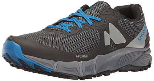 Merrell Mens Agility Charge Flex Lightweight Trail Running Shoes Black