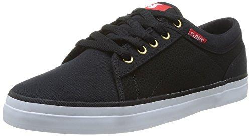 Dvs - Aversa Scarpe Da Skateboard Uomo Nero schwarz black red