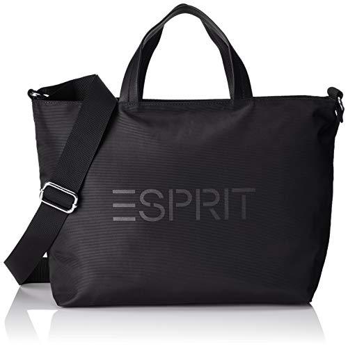 Esprit Accessoires 999ea1o800, Sac femme, Noir (Black),...