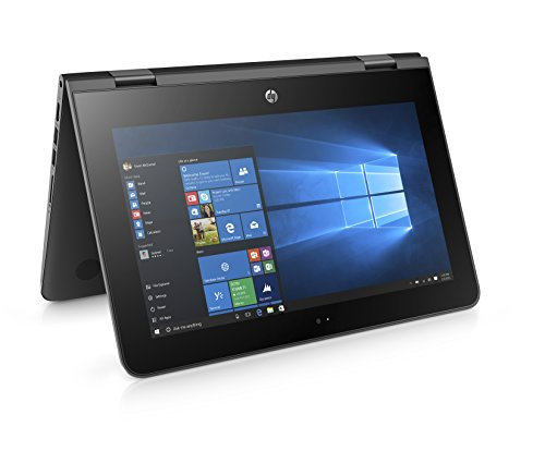 HP Stream x360 Celeron 11.6 inch IPS eMMC Convertible Black
