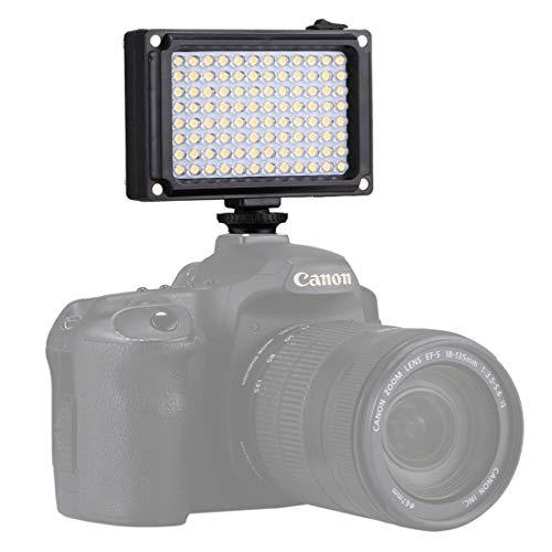 Portable high-power photographic lighting panel Sunyifan Pocket 96 LEDs 860LM Professionelle Vlogging-Fotografie Video- und Fotostudio-Beleuchtung mit weißen und orangefarbenen Magnetfiltern Lichtpane