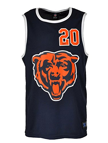 Chicago Bears Mesh Logo Tank Top, M (Chicago T-shirt Herren)