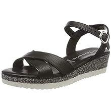 Tamaris 1-1-28248-24, Women's Ankle-Strap, Black 001, 6.5 UK (40 EU)