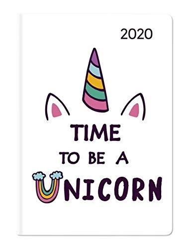 Ladytimer Mini Unicorn 2020 - Taschenplaner - Taschenkalender (8 x 11,5) - Weekly - 144 Seiten -...