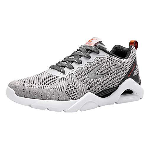 ABsoar Sneakers Herren Leichte Laufschuhe Atmungsaktive Outdoor Sportschuhe Casual Turnschuhe Joggingschuhe Gymnastikschuhe Schnürhalbschuh für Student