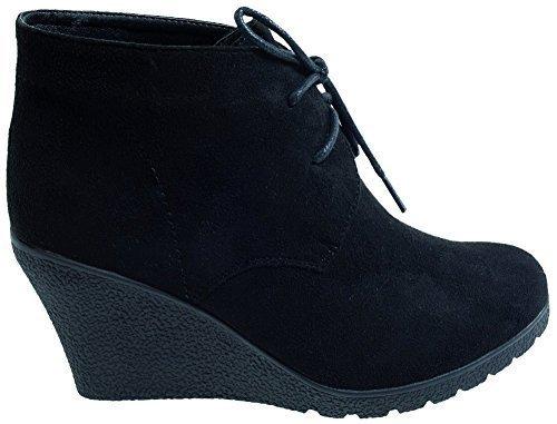 Damen Stiefeletten von Lisanne Comfort, 126461 in Schwarz Mehrfarbig