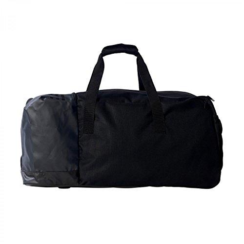 adidas 3 Stripes Team Bag – Black/Vista Grey, Large