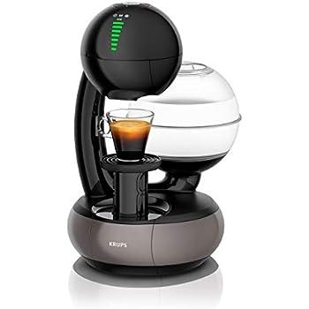 Krups Nescafé Dolce Gusto Esperta KP3108 - Cafetera monodosis (1.4, titanio), color negro y gris