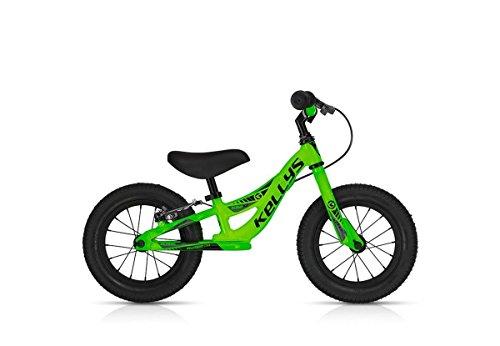 Laufrad Kellys Kite Race mit Bremse (Neon Green) -