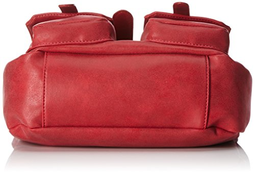 Betty Barclay Damen Bb-1043-Ve Schultertasche, 10 x 20 x 28 cm Rot (Red)
