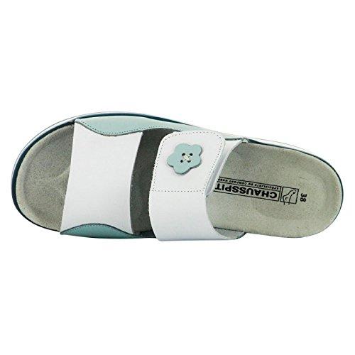 Chaussure de travail pour infirmière et professions médicales Ciel et Blanc