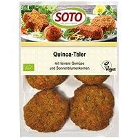 Soto Bio Quinoa-Taler auf Gemüse-Basis mit Sonnenblumenkernen (6 x 195 gr)