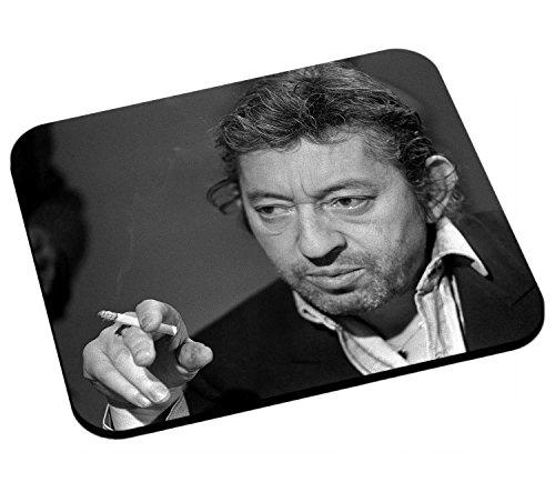 Mauspad Serge Gainsbourg Serge Gains französisch Sänger Zigarette