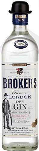 Brokers Ginebra 40%, 700 ml