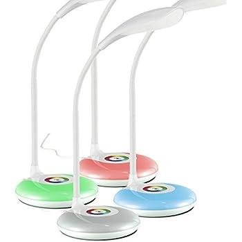 LED Schreibtischleuchte Touch Dimmer RGB Farbwechsel