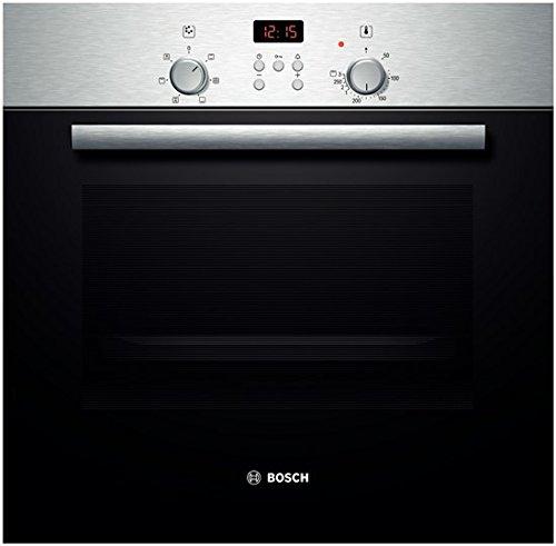 Bosch HBN532E0F four - fours (Intégré, Electrique, A+++-20%, Noir, Acier inoxydable, boutons, Rotatif, Devant)