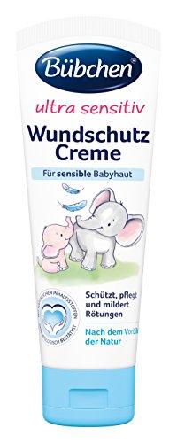 Bübchen Ultra Sensitiv Wundschutzcreme, 8er Pack (8 x 75 ml)