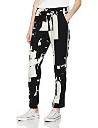 ONLY Damen  Onlmax Graphic Trousers Wvn