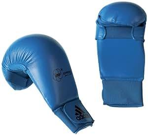 adidas 611.11 Unisex WKF Karate Mitts - Blue, Medium
