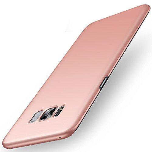 Samsung Galaxy S8 Plus Hülle,EinsAcc PC Einfarbig Slim Schutzhülle Hülle für Samsung Galaxy S8 Plus (blau) rosegold