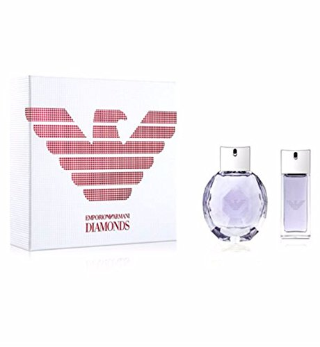 Emporio Armani DIAMONDS VIOLET 2017 Set 50ml Eau De Parfum & 15ml EDP Travel Spray -