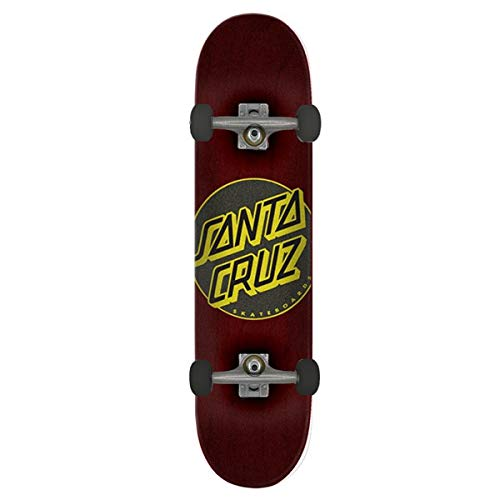 Santa Cruz Classic Dot Taper Tip 8' Brown Skateboard Complet - 8.0'