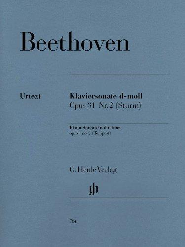Sonate Op.31/2 ré min. (Tempête)+Préface - Piano par Beethoven