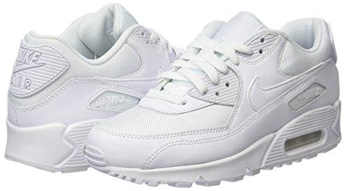 Nike Air Max 90 Essential, Herren Sneakers, Weiß (White/white-white-white), 43 EU (8.5 Herren UK) - 6