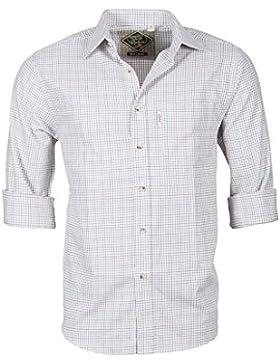 Rydale - Camisa, diseño de cuadros, estilo Country, para hombre