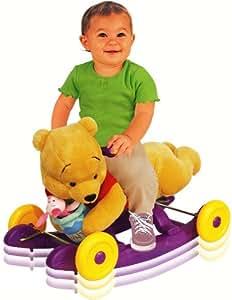 N Winnie The Pooh Rock &;n&; Roll bascule en peluche