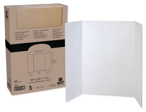 Pacon Moderationstafel, 121,9x 91,4cm Tri-Fold, 24Boards (Science-display-board)
