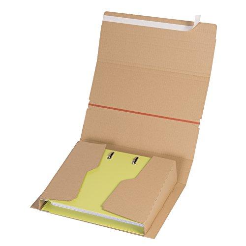 ELBA 400079265 Versand-Verpackung Mail und Ship 10 Stück für Ordner und Ringbücher Ordner-Versandboxen, Ordner-Versandkartons, Ordnerverpackung, Ordnerversandverpackung