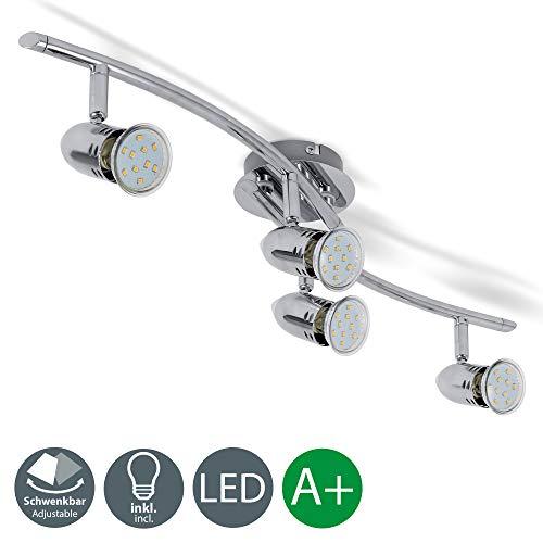 Lámpara de techo con focos redondos I Foco LED para techo I...