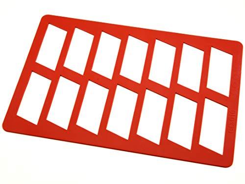 Pati-Versand 11737 Silikonrahmen für Aufleger Banner zum Gießen eigener Aufleger