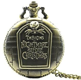 LCsndice Taschenuhr der Alptraum vor Weihnachten Vintage Antik -