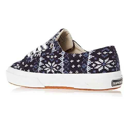 Superga Fw, Chaussures femme Blue-white