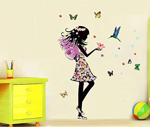 ouneed-removable-angel-wings-beautiful-girl-flowers-butterfly-diy-wall-stickers