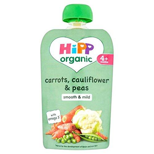 HiPP Bio Pikant Pouch - Karotten, Blumenkohl und Erbsen 100g