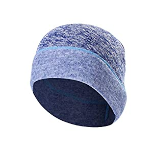 Tofern Helmmütze Mütze unter den Helm strickt hautfreundlich kuschelig für Winter