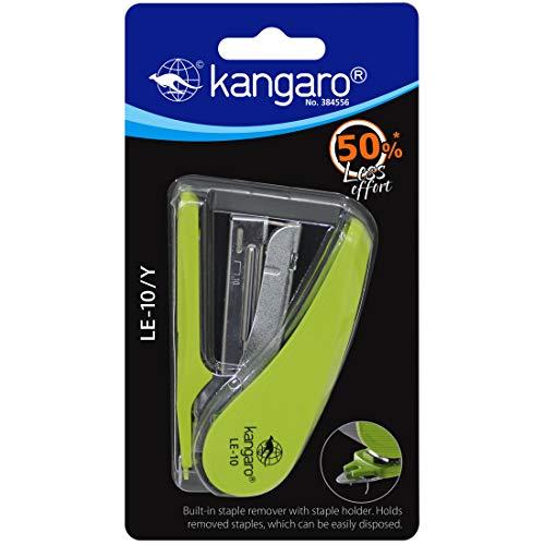 Kangaro LE 10 Y Stapler (Multicolor)