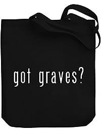 Teeburon Got Graves? Bolsa de Lona