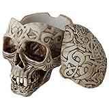 Tribal Celtic Totenkopf Aschenbecher - groß