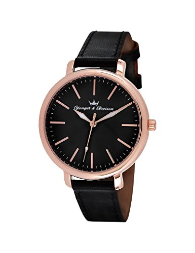 Orologio Yonger & Bresson Donna Nero – DCR 050/AA – Idea Regalo Noel – in Promo