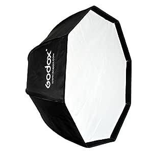 Godox SB-UE 80cm / 32 Inch Portable Octagon Honeycomb Grid Umbrella Speedlite Softbox with Bowens Mount