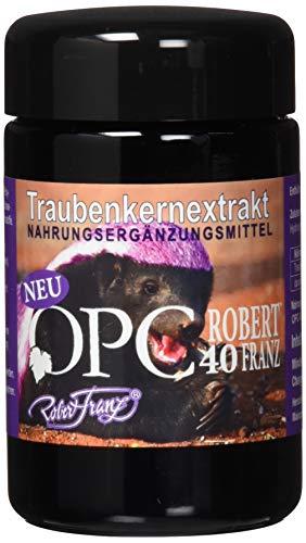 Robert Franz - Traubenkernpulver OPC40, 2 x 60 Kapseln