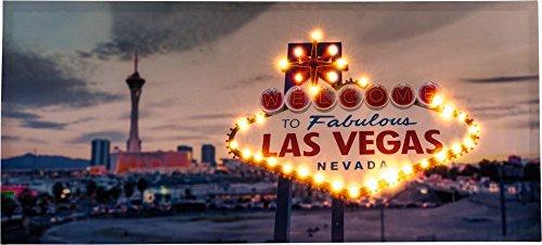 Wandbild (Las Vegas-led)