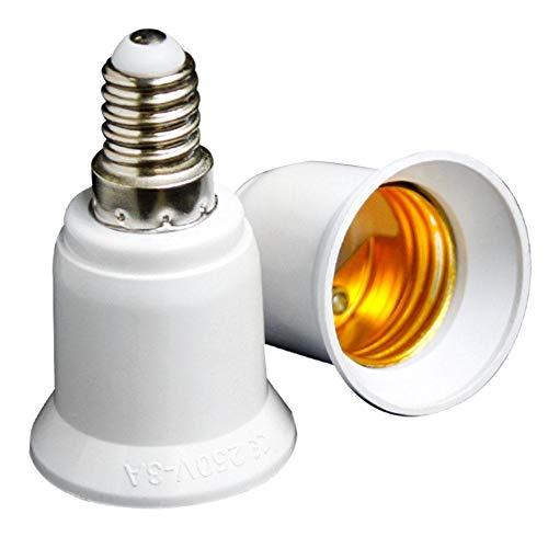 Einem Kandelaber-buchse (tomation Adapter E14 auf E27 - Lampenfassung E14 auf mittlere Buchse E27 Konverter - Lampenfassung Lampenfassung Sockeladapter)