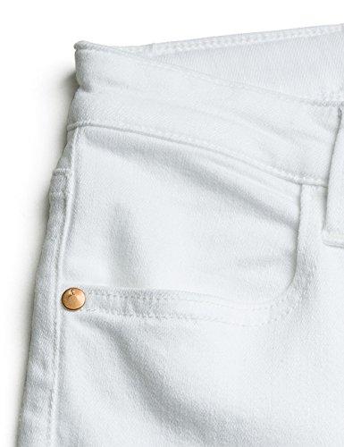 Replay Damen Jeanshose Touch_optical_white Weiß (Optical White 1)