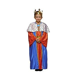 Disfraz de Rey Mago Azul para niños